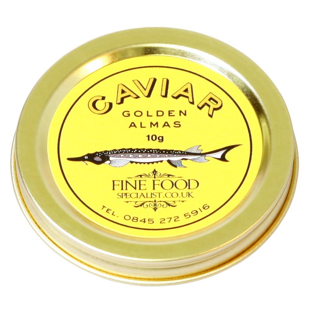 Golden Almas Caviar - одна из самых дорогих видов икры