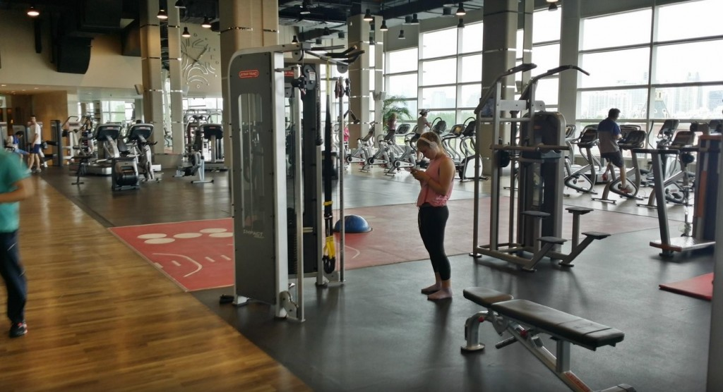 Kerry Hotel Pudong Shanghai Health Club Fitness Centre