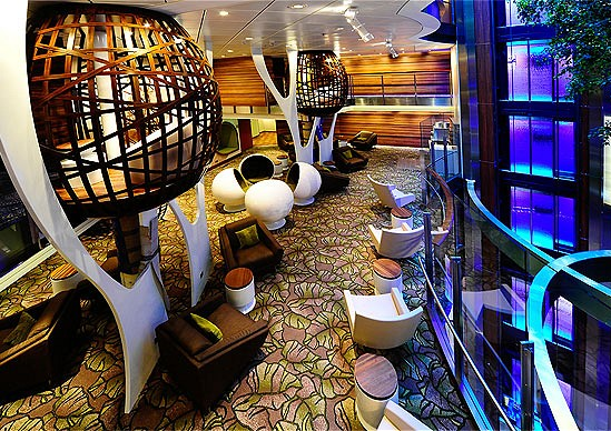 Celebrity Silhouette Chillout zone. Foto by www.panoramatravel.rs
