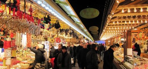 Рождественская ярмарка в Страсбурге (Франция)