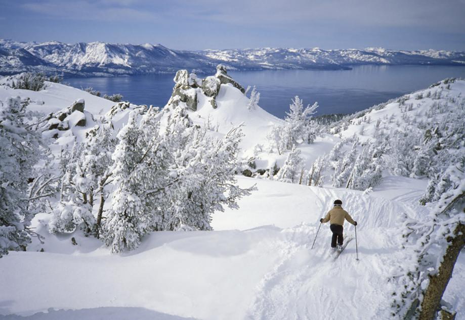 Лыжные курорты. Отель Alder Inn на озере Тахо, США