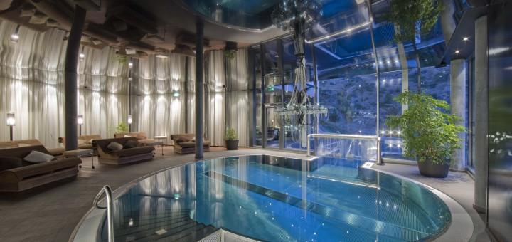 Spa Pool в Hotel Matterhorn Focus в Церматт (Швейцария)
