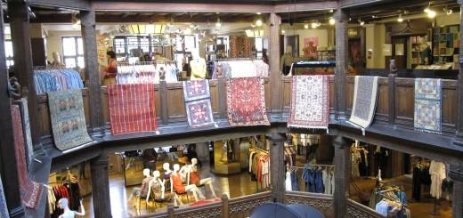 Магазин Liberty - символ традиционно-лондонского шоппинга!