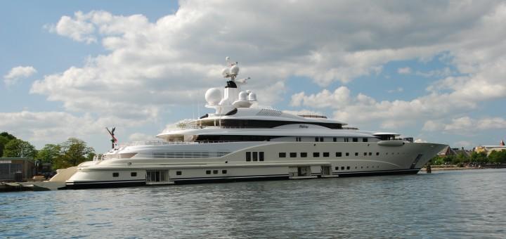 The yacht Pelorus