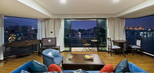"""Отель """"Baan Wanglang Riverside"""" - бутик отель Бангкока рядом с причалом и с панорамным видом на реку Чао Прайя. Фото www.tourismthailand.org"""