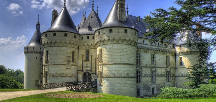 Замок Шомон (Шомон-сюр-Луар, Шато Шомон, Chateau de Chaumont). Шато, дворцы Франции. Фото www.wikipedia.org