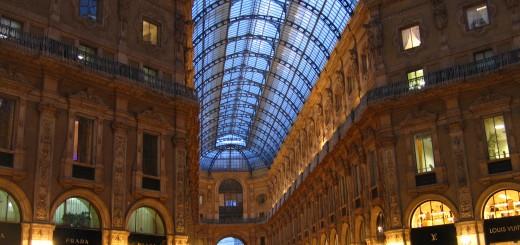 Galleria Vittorio Emanuele II - Лучший шоппинг в Милане! Элитный шоппинг в Италии!