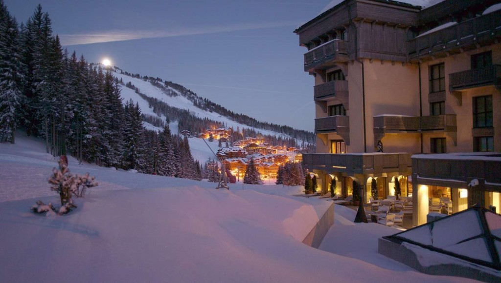 Hotel Le Melezin in Courchevel
