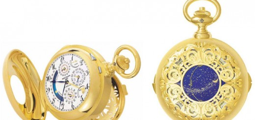 Самые дорогие часы Patek Philippe Henry Graves Supercomplication. Фото www.watchbuy.ru
