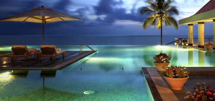 Пляжный 5* отель в Ковалам, Керала - The Leela Kovalam (The Leela Kempinski). Фото http://www.theleela.com