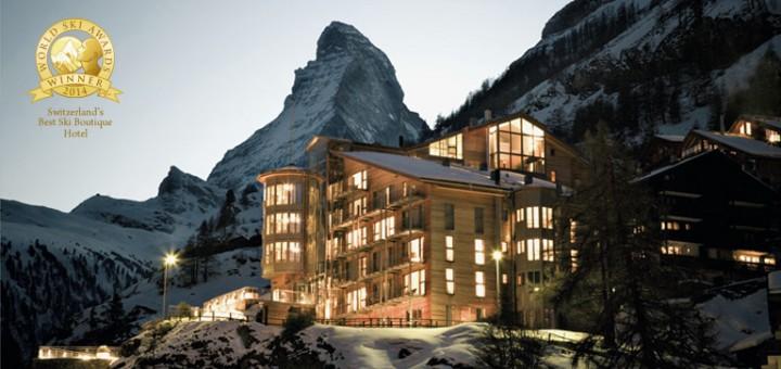Отель The Omnia (Церматт, Швейцария) — лучшие горнолыжные отели мира! Фото www.the-omnia.com