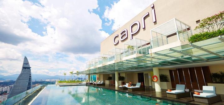 Отель Capri By Fraser Kuala Lumpur. Фото www.kualalumpur.capribyfraser.com