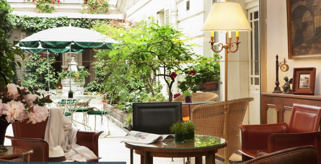 Отель d'Angleterre, Saint Germain des Pres - исторический отель в Париже, Франция. Фото www.hotel-dangleterre.com