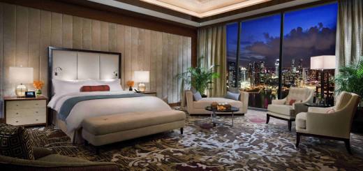 Presidential Suite, Отель Marina Bay Sands, Сингапур. Фото www.marinabaysands.com