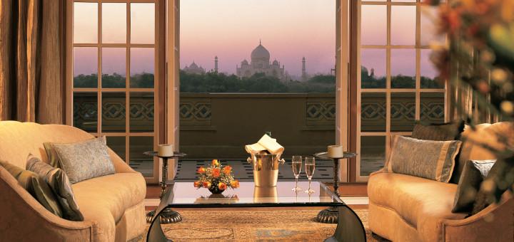"""5-ти звездочный, люксовый отель рядом с Тадж-Махал - """"The Oberoi Amarvilas, Agra. Фото www.oberoihotels.com"""