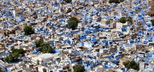 Голубой город Джодхпур (Jodhpur), Индия. Фото www.wikimedia.org