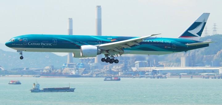 Авиакомпания Cathay Pacific. Фото www.en.wikipedia.org