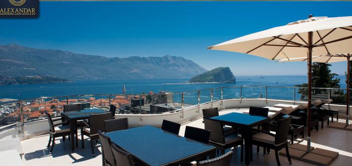 "Апартаменты ""Alexandar Montenegro Luxury Suites & Spa"", Будва, Черногория. Фото www.alexandarsuites.com"
