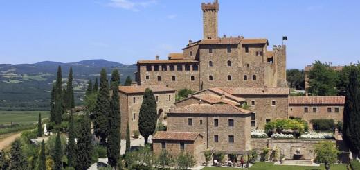 Castello Banfi - Il Borgo (Кастелло Банфи - Борго) - шикарный и роскошный замок-отель с отличным вином! Фото www.castellobanfiilborgo.com