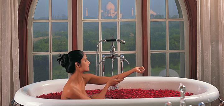 Luxury spa - «Amarvilas Spa» при отеле «The Oberoi Amarvilas», Агра. Фото www.oberoihotels.com