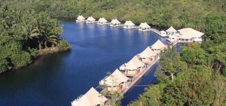 4 River Floating Eco Lodge, остров Koh Rong (Кох-Ронг, Камбоджа)