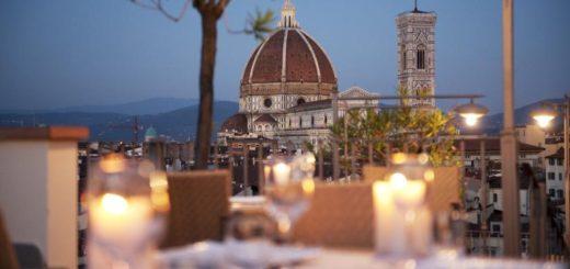 """Отель """"Grand Hotel Baglioni"""" (Флоренция, Тоскана, Италия)."""