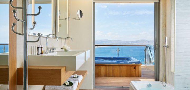 """Luxury Отель """"Lindos Blu Hotel"""" на о.Родос. Фото www.lindosblu.gr"""