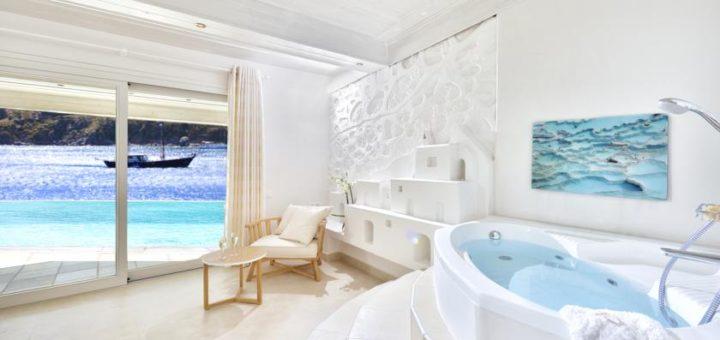 """Отель """"Nissaki Boutique Hotel"""". остров Миконос, Киклады, Греция!"""
