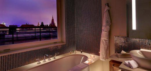 """Отель в историческом здании, жилом дворце XVII """"Grand Mark Prague"""" (ранее """"The Mark Luxury Hotel Prague"""")"""