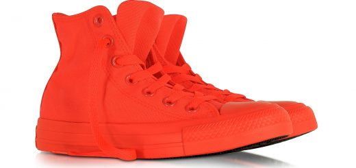 CONVERSE LIMITED EDITION. All Star Hi Neon Crimson - Женские кеды из ткани