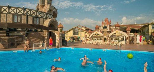 Лучшие отели Анапы, Россия. Довиль Hotel&SPA All Inclusive.