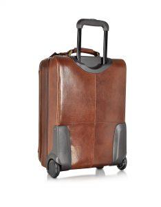 THE BRIDGE. Story Viaggio Marrone. Кожаный Троллей. Элитные чемоданы премиум класса!