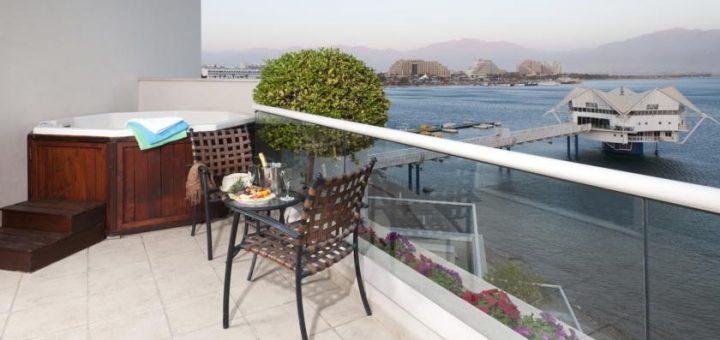 """Лучшие отели Эйлата (Израиль). Отель """"U Suites – Luxury by the Sea"""""""