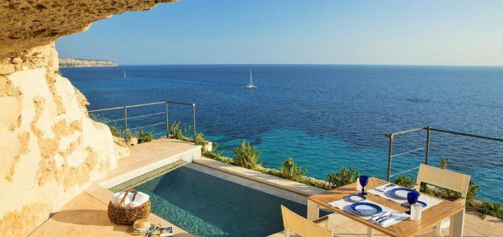 """Пляжный отель для взрослых в Испании - """"Cap Rocat"""" (Adults Only Luxury Hotel Mallorca)"""