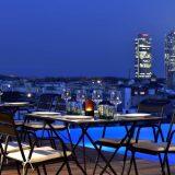 """Grand Otel Central"". Отель 5 звезд в Барселоне с красивым видом на Готический квартал."