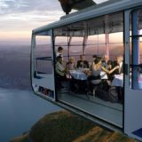 The Restaurant in the Sky. Weggis - Rigi