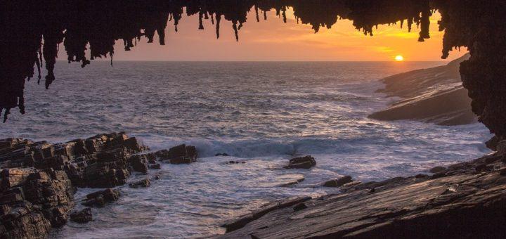 Закат на Острове кенгуру, Австралия