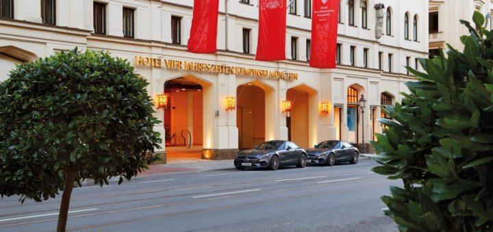 Лучший отель Мюнхена 5* звезд (Munich) в центре города - Vier Jahreszeiten Kempinski München!