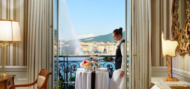 """Лучшие отели Женевы - отель """"Hotel d'Angleterre"""""""