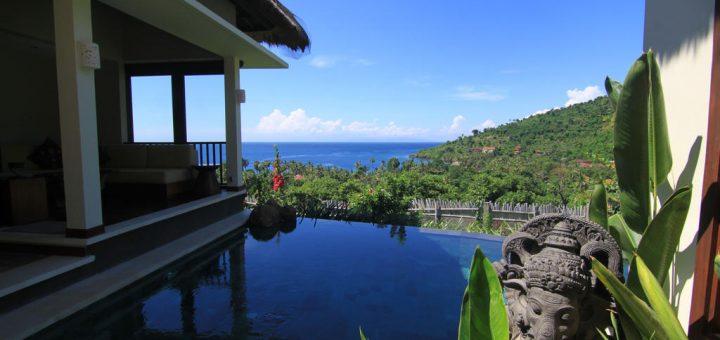 """Лучшие виллы Бали - вилла с бассейном и панорамным видом - """"The Griya Villas and Spa"""""""