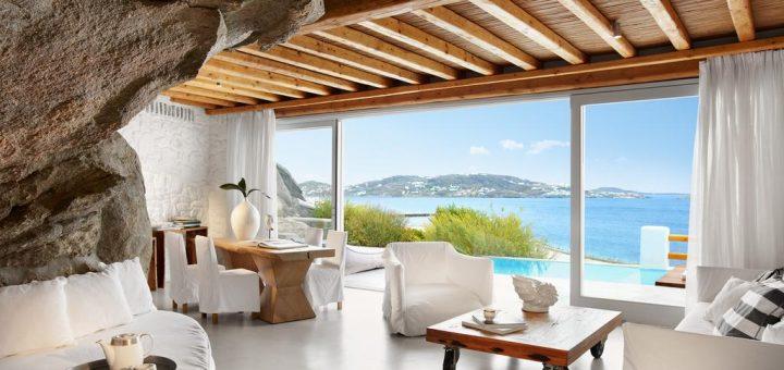 Лучшие отели Миконос - «Cavo Tagoo Mykonos»