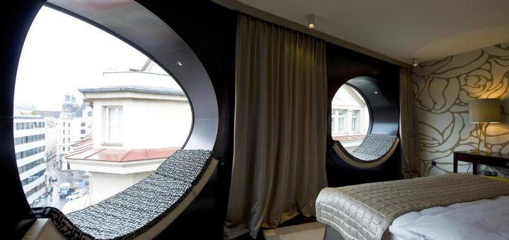 Лучшие отели Вены в центре старого города - «Hotel Topazz»