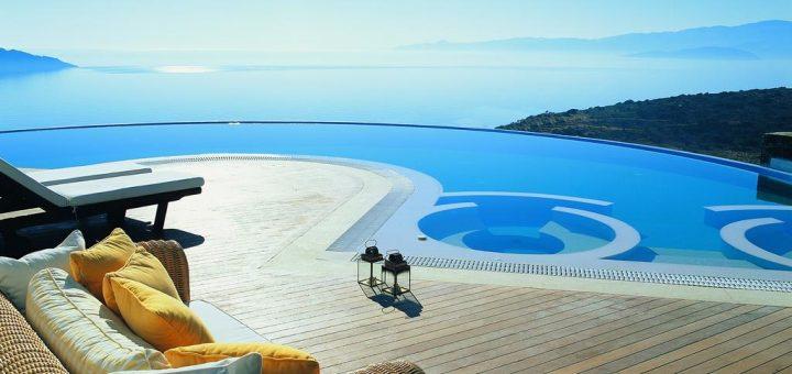 Лучшие отели Крита 5 звезд - отели с приватным бассейном и для отдыха с детьми «Elounda Gulf Villas & Suites»