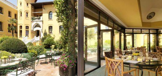 Лучшие отели Стамбула 5 звезд - отели в Стамбуле в районе Султанахмет «Four Seasons Hotel Istanbul at Sultanahmet»