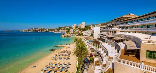 Лучшие отели Пальма де Майорка с SPA центром, с собственным пляжем - «Hotel Nixe Palace»