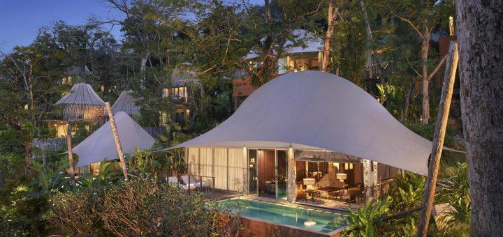 Лучшие отели на Пхукете в окружении джунглей - «Keemala Phuket». Вилла Tent с собственным бассейном.
