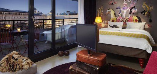 Лучшие отели Вены 4* - дизайнерский отель «25hours Hotel Wien at MuseumsQuartier»