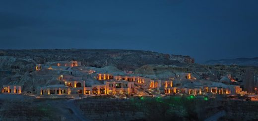 """Отели в пещерах - """"MDC Cave Hotel Cappadocia"""" (Каппадокия, Турция)"""