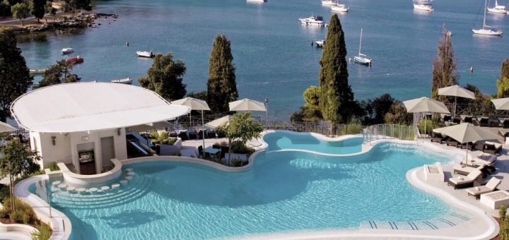 Лучшие отели Истрии 5 звезд на берегу моря - «Hotel Monte Mulini»