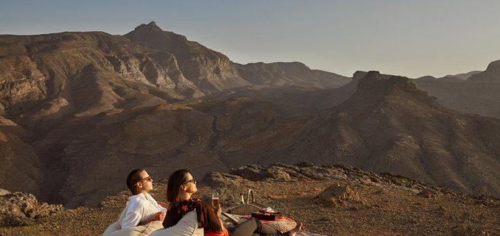 Лучшие отели Омана (Мусандам, Дибба) 5 звезд с собственным пляжем - сетевой отель «Six Senses Zighy Bay»